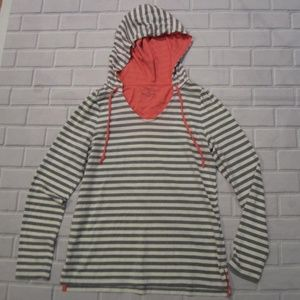 Sonoma Size XS Striped Pullover Hoodie